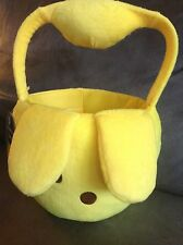 FLIPEEZ YELLOW PEEP EASTER PAIL FOR CANDY (WITH SQUEEZE PUMP) - NEW WITH TAGS