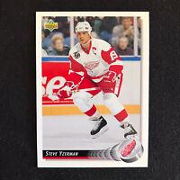 1992-93 Upper Deck Hockey Steve Yzerman #155 Detroit Red Wings NM