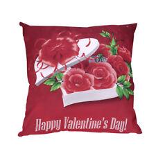 Cotton Linen Christmas Pillow Case Santa Sofa Car Throw Cushion Cover Home Decor
