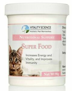 Vitality Science Super Food Multi Vitamin Supplement for Cats - Additive Free
