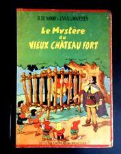 """Rare E.O. 1947 """"Le mystère du vieux château fort"""" par Bob De Moor ed.Campeador"""