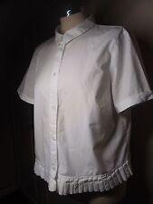 M&S Limited Edition Cotton White Shirt Size XL/UK 14