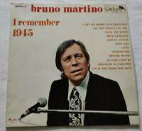 BRUNO MARTINO LP I REMEMBER 1945 33 GIRI VINYL ITALY OXFORD OX3084 NM/NM