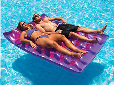 Swimline 9036 Inflatable Two-Person Swimming Pool French Mattress Air Float