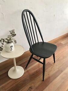 Original Vintage Chair Ercol Windsor Elm Chair Occasional Chair Desk Chair VGC