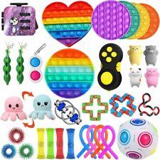 1-20x Sensory Fidget Toy Bubble Spielzeug Autismus Stressabbau Anti Angst Kinder