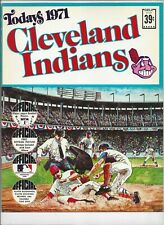 1971 TODAYS CLEVELAND INDIANS  DELL TEAM STAMPS ALBUM BOOK