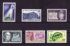 LOT DE TIMBRES N° 1682/1688/1689/1690/1691/1692  NEUF**