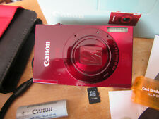 Canon IXUS 500 HS / PowerShot ELPH 520 HS 10.1MP Digital Camera - Red V.G.C.