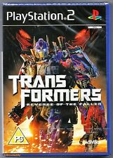 PS2 Transformers Revenge of the Fallen (2009), UK Pal, New & Sony Factory Sealed