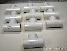 "New Lot of (10) Lasco 3/4"" SCH Tee Socket"