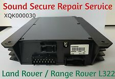 Land Rover Range Rover DSP Amplifier XQK000030 Repair Service 2000 TO 2004