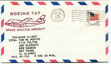 1979 Boeing 747 Space Shuttle Aircraft Mc Murtry Fulton Algrante Haugen Young