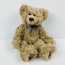 "Russ Thornbury The Fuzzy Tan Teddy Bear 6"" Plush Stuffed Animal Toy"