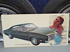 Dealer Showroom Promo Poster 1970 Mercury Montego MX Brougham-Cyclone-Ford Sign