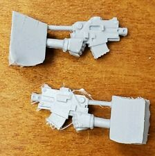 Warhammer 30k Forge World Bits: Space Marine Mark II Phobos Bolt Pistol Set
