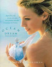 PUBLICITE ADVERTISING 025  1996  GIORGIO BEVERLY HILLS parfum femme OCEAN DREAM