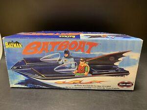 Batman: Batboat - 2003 Polar Lights Model Kit #6906 - NEW & UNUSED!