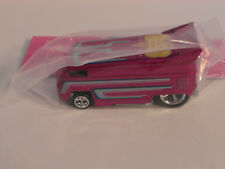 2018 Hot Wheels 18th Collectors Nationals Bingo Early Bird PINK VW Drag Bus