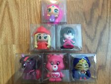 Mixed Lot of 6 Display Fashems Mashems Monster, Care, Pony, DC, Barbie, Shimmer