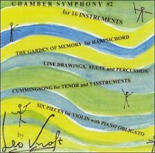 Leo Kraft: Chamber Works (CD, Dec-2001, Albany Music Distribution)