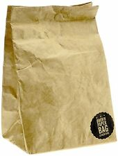 Luckies of London Brown Paper Lunch Bag USLUKBRW
