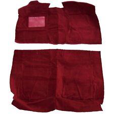 PACKARD CUSTOM, DELUXE, STANDARD 4 DOOR SEDAN EIGHT MODELS RED CUT PILE CARPET