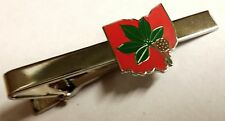 The Ohio State University OSU Buckeyes Football Champions Tie Bar Clip