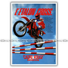 PUB HONDA CR 125 R CR125 CR125R - Original Advert / Publicité Moto de 1983