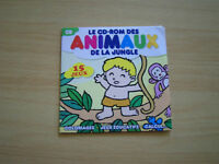 pc cd-rom le cd-rom des animaux de la jungle 15 jeux