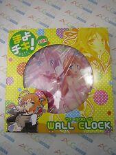 Anime Manga Mayo Chiki Sunaru Konoe Big Wall Clock B Taito Japan