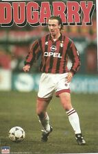 CHRISTOPHE DUGARRY AC MILAN Original Starline Poster MINI Promo Piece 3x5