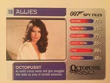 Octopussy #18 Allies - 007 James Bond Spy Files Card