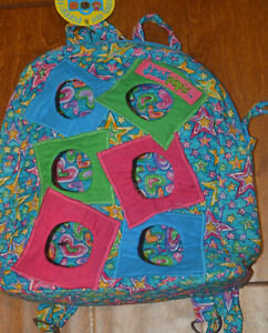 Jack Popz The Jack Blue Stars Geo Webkins Pet Quilted Carrier Poppin' Backpack
