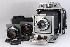 【B V.Good】Topcon Horseman 970 Medium Format Camera w/Lens x 3 75/105/180mm Y2512