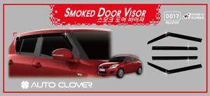 Autoclover Smoke Weather Shield 4pcs for 01/2011 - 04/2017 Suzuki Swift