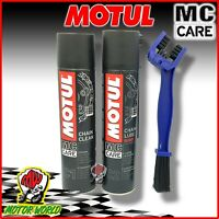 Set Cleaner Lubrication Fat Chain Motorcycle MOTUL Chain Lube Road Kawasaki