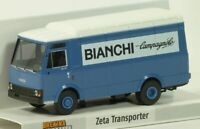 "Brekina 93464 IVECO ZETA  transporter  ""BIANCHI Campagnolo"" Scala H0 1/87"