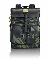NWT Tumi Men's Alpha Bravo London Roll-Top Backpack, CAMO