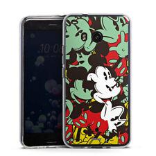HTC U11 Silikon Hülle Case - Mickey Muse