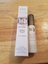 URBAN DECAY DE-SLICK Makeup Setting Spray Oil Control -1 oz New In Box-FREE SHIP