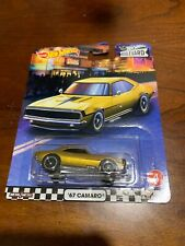 2020 Hot Wheels Boulevards #4 1967 Camaro Gold Real Riders
