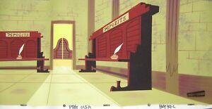 The Powerpuff Girls hand painted Pan Production Background Cartoon Network 41
