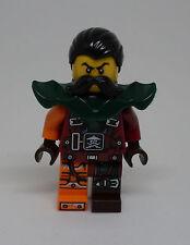 Lego Ninja Ninjago Flintlocke Armor ( 70594 Figur Rüstung orange Bart ) Neu