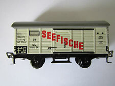 "Vintage Fleischmann 1212 DB Box Car ""Seefische"" Made in U.S. Zone Germany 1:87"