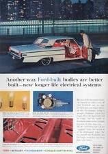 1963 Ford Galaxie & Interior PRINT AD