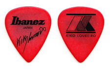 Megadeth Kiko Loureiro Signature Red Guitar Pick - 2015 Tour