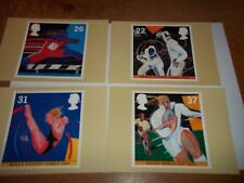 Sport '91 11 june 1991 PHQ 135 set Royal Mail Stamp Card Series  MINT FREE POST