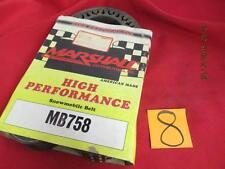 Marshall High Performance Snowmobile Belt NOS MB758