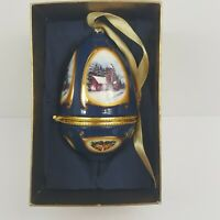 Valerie Parr Hill Christmas Tree Ornament Mr. Christmas Musical 07 Blue New Box